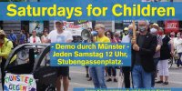 Saturdays for Children, Münster, 20.06.2020, Gründungsmoment auf dem Stubengassenplatz in Münster